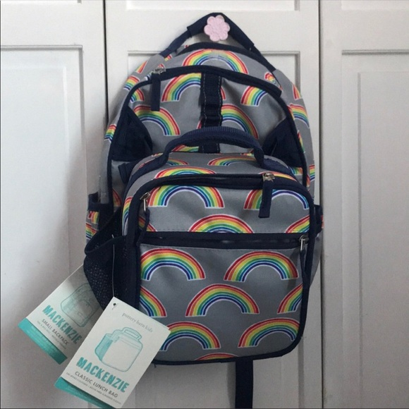 Pottery Barn Kids Accessories   Rainbow Backpack And Lunchbox   Poshmark 87cd2e55c6